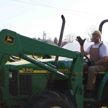 close-tractor